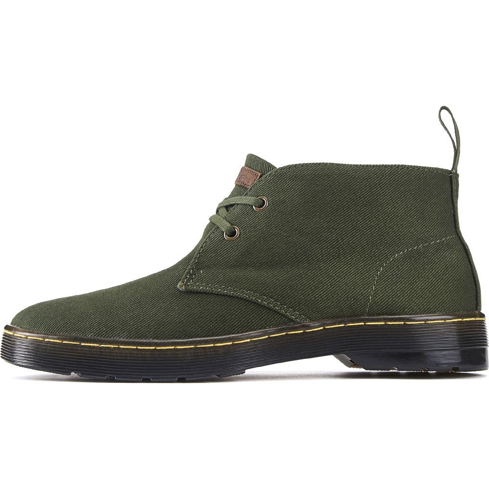 896c72b46bb Dr. Martens for Men: Mayport Forest Green Chukka Boots