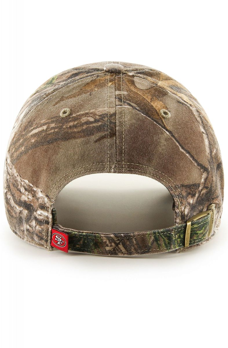 e4dd2dbd The San Francisco 49ers '47 Real Tree Clean Up Dad Hat in Multi