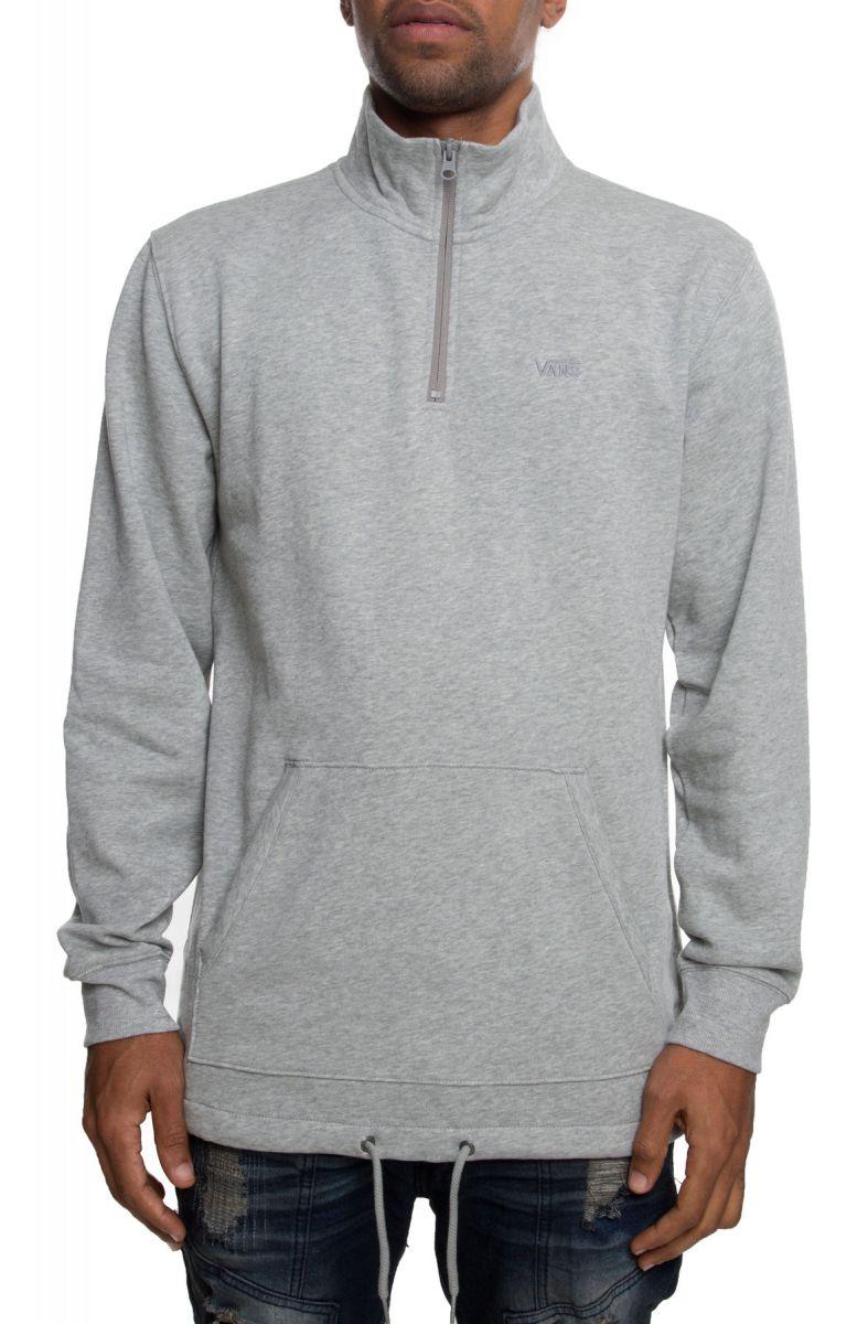 The Versa Quarter zip Fleece Jacket in Cement af4204976
