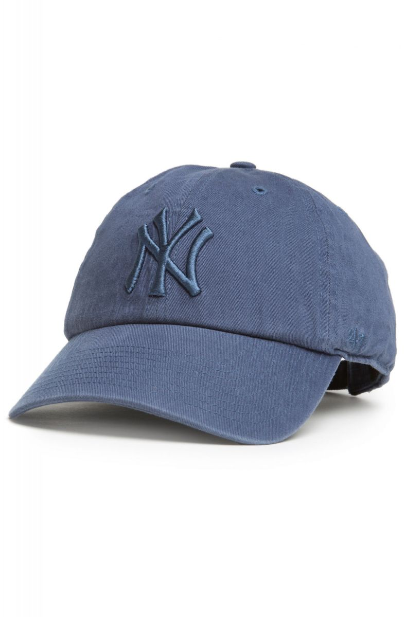 half off 80269 c4b76 ... purchase the new york yankees 47 clean up tonal dad hat in timber blue  13869 2f7eb