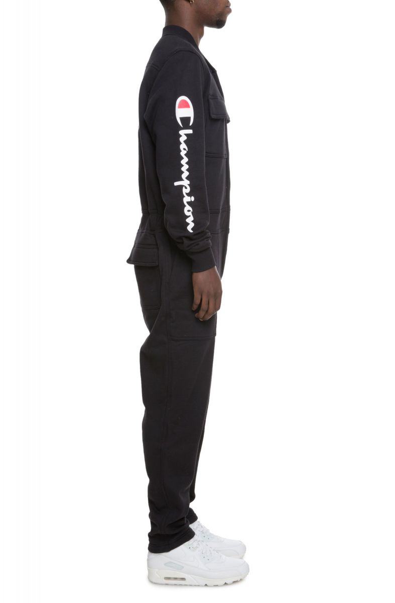 Champion Mens Super Fleece 2.0 Coveralls Overalls