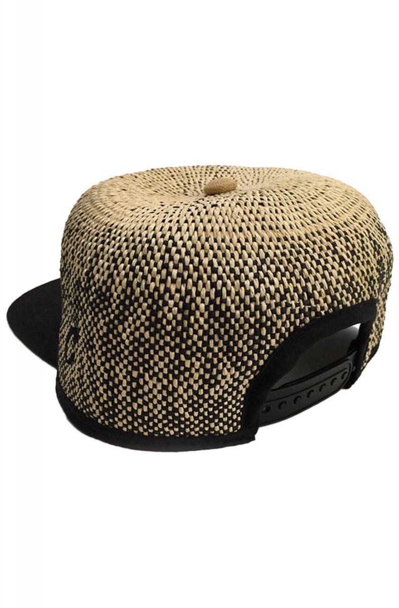 44b0a22a36b Original Chuck By Mark McNairy Hat Straw Ball Snapback Natural Brown