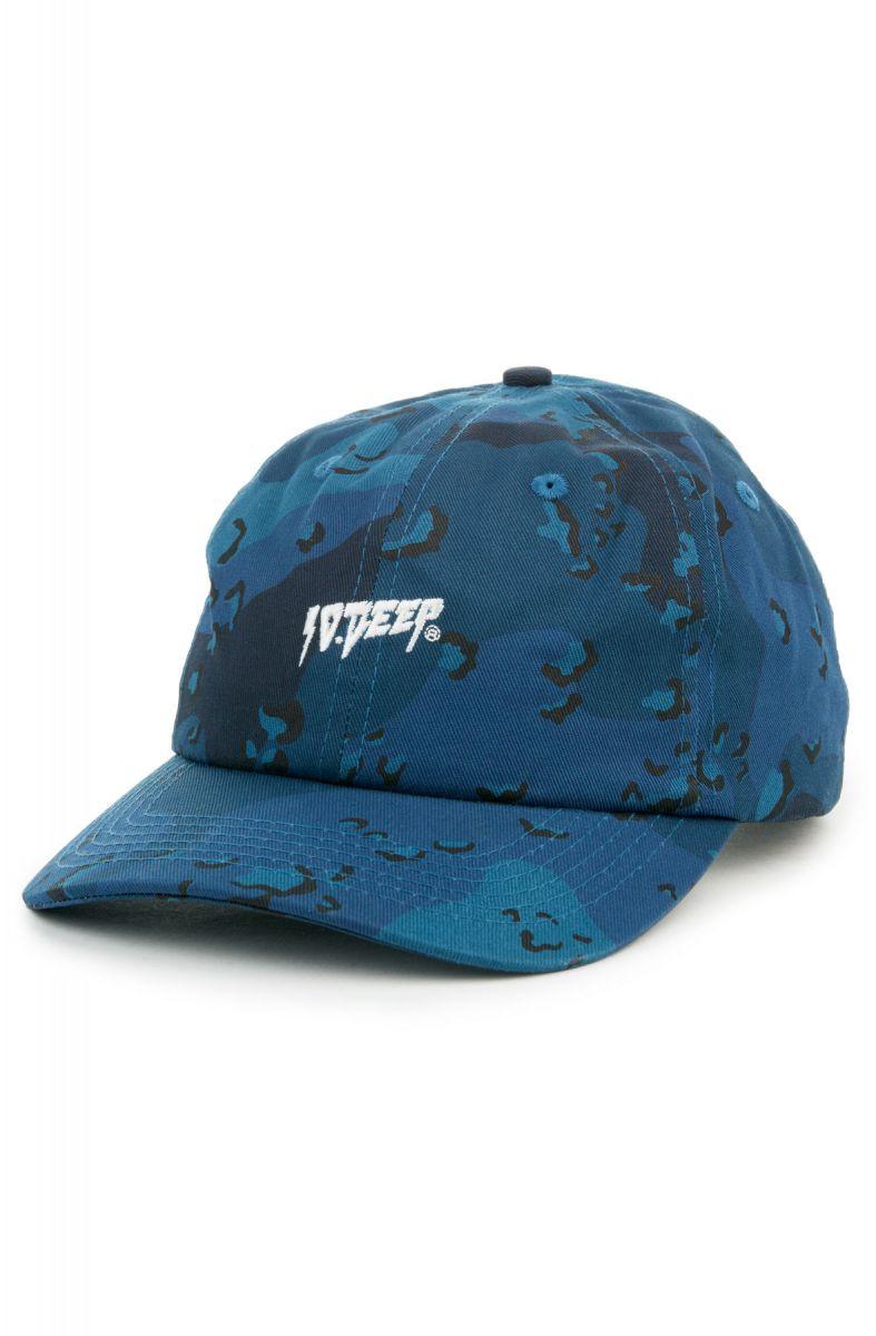 huge selection of 11c11 dd793 10 Deep Hat Sound   Fury Camo Dad Chips Blue