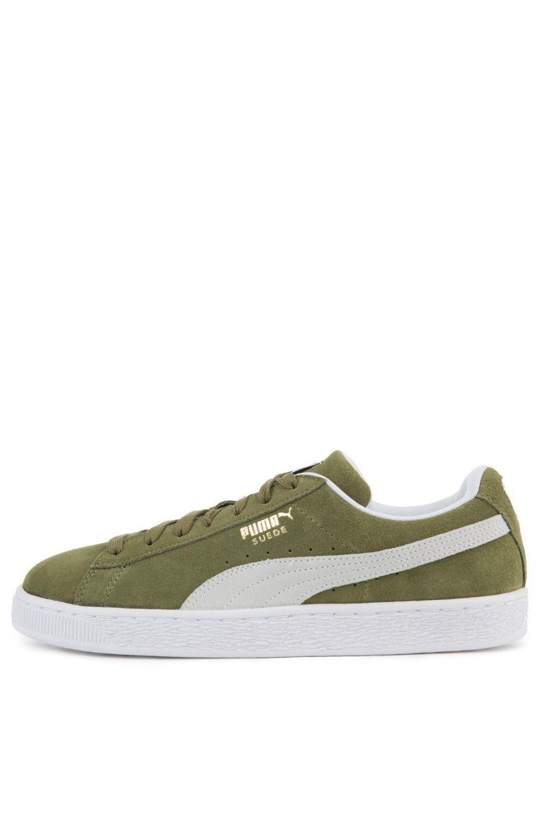 3e52e6825f8dc Puma Sneaker Suede Classic Capulet Olive Puma White