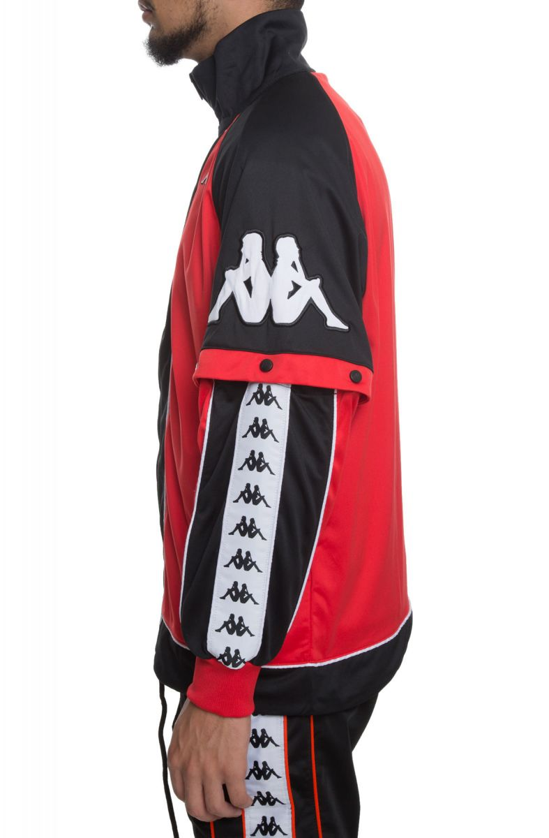 28b6ef9c5 The 222 Banda Big Bay Jacket in Red, Black and White