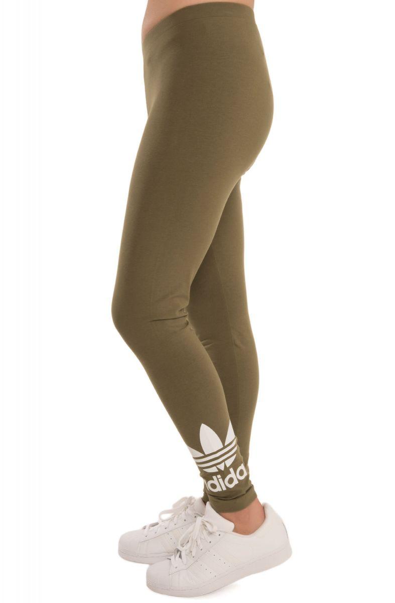 856010c22d8ad ... The Trefoil Leggings in Olive ...