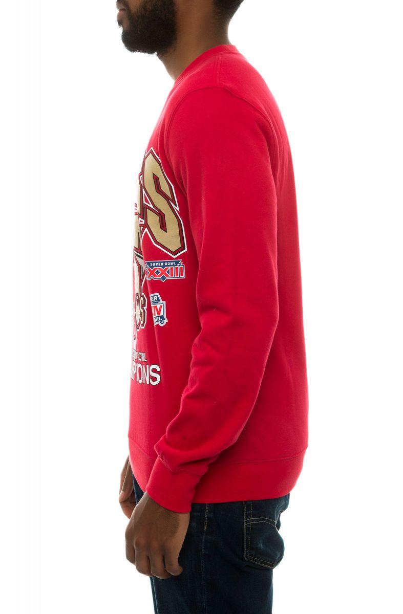 92efe33059eb5 ... The NFL Team Of The Year San Francisco 49ers Crewneck Sweatshirt ...