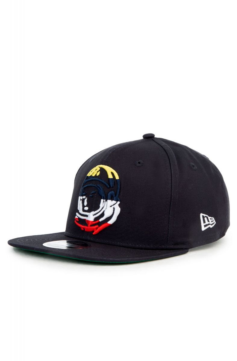 5de84cafdea The Helmet Snapback in Light Navy