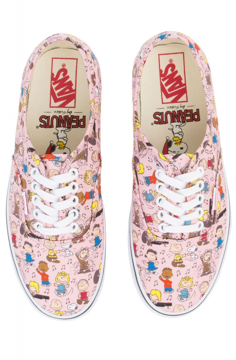 bcf78d4f326 ... The Women s Vans x Peanuts Authentic in Dance Party and Pink ...