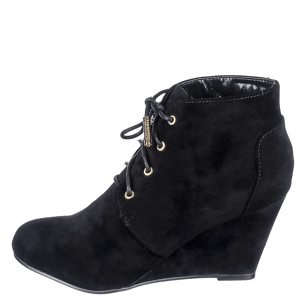 d1c5a0a577 Women's Wedge Lace-Up Boots LaLa Land