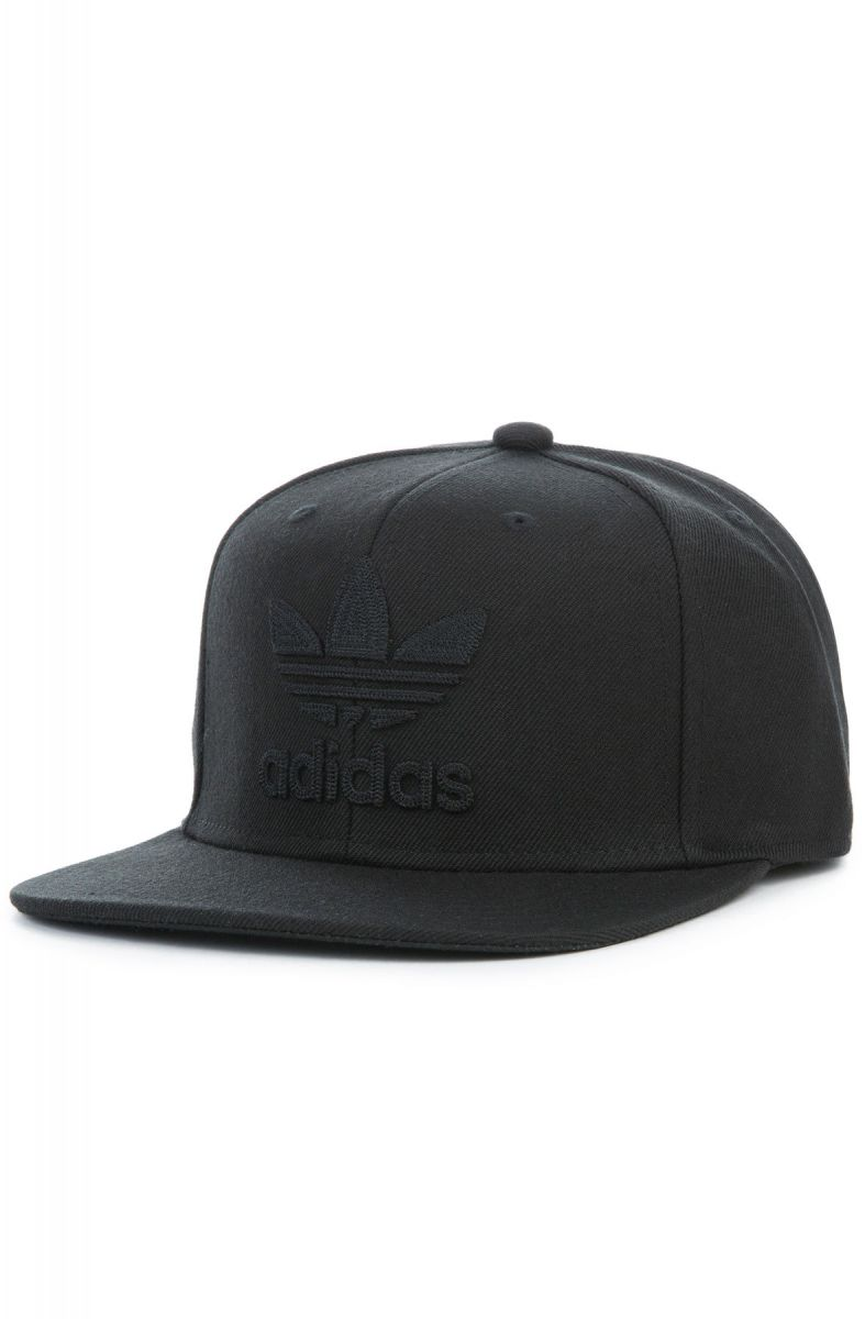 adidas Hat Adidas Originals Thrasher Chain Snapback Black 3fbcd147548