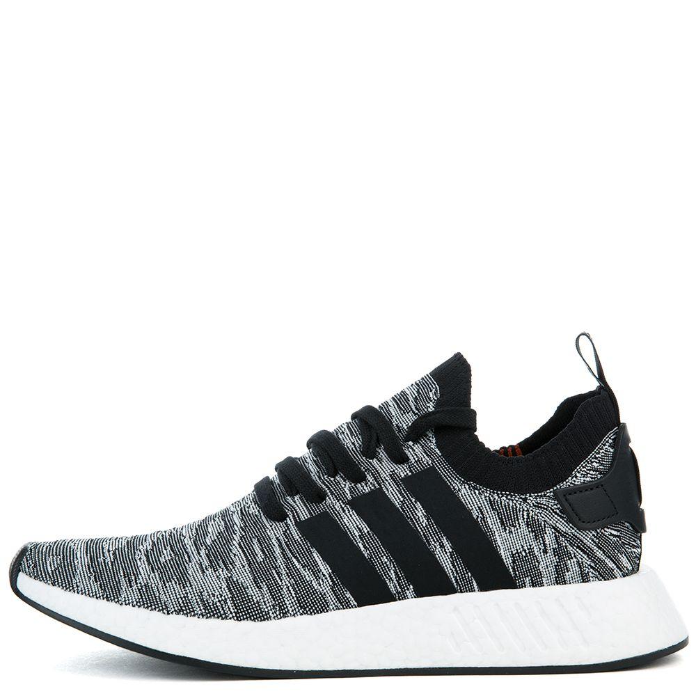 a4813e2afc151 Adidas Sneaker NMD R2 PK Coral Black White