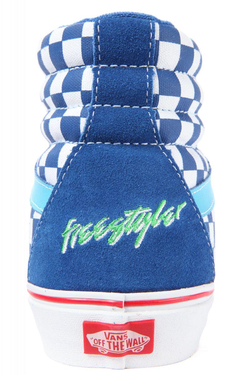 5697a99788 Vans Footwear Shoes Vans x Haro Sk8-Hi Reissue Sneaker in Freestyler ...