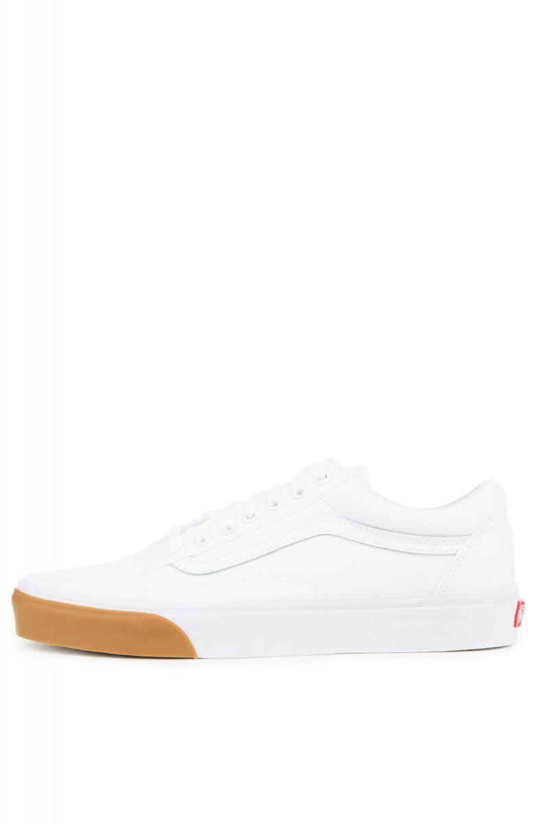 a2c9a6167590 Vans Sneaker Men s Old Skool Gum Bumper True White