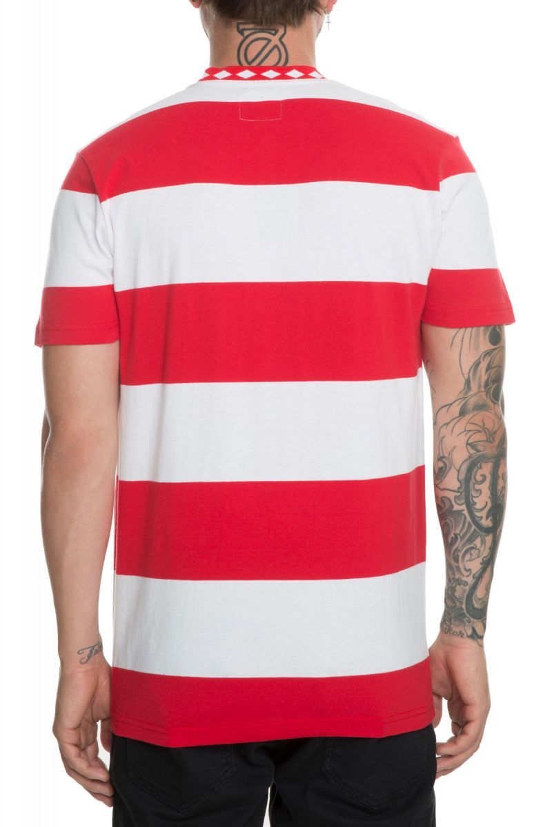 bb4fba0b1c ... The Ace Stripe Shirt in Red