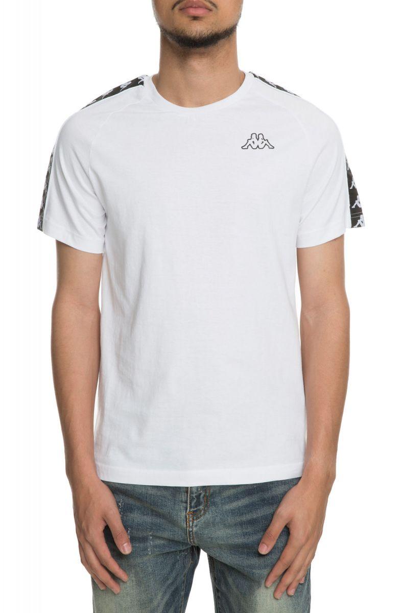1b09eb1151 The 222 Banda Coen Slim Tee in White and Black