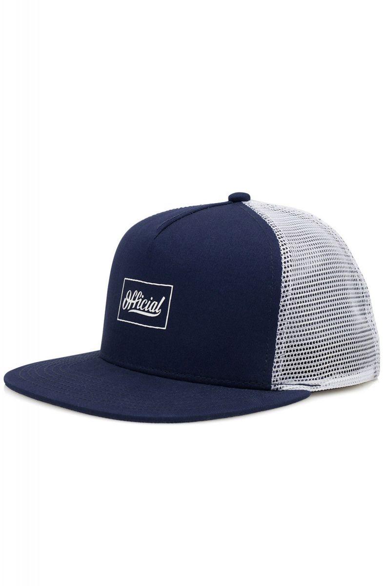 3906ff9a46f The Pequenos SKT Trucker Snapback Hat in Navy