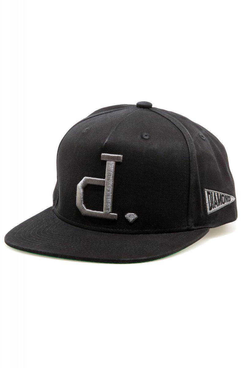 56bf5cc13c5a8 Diamond Supply Co. Hat Un Polo Snapback Black