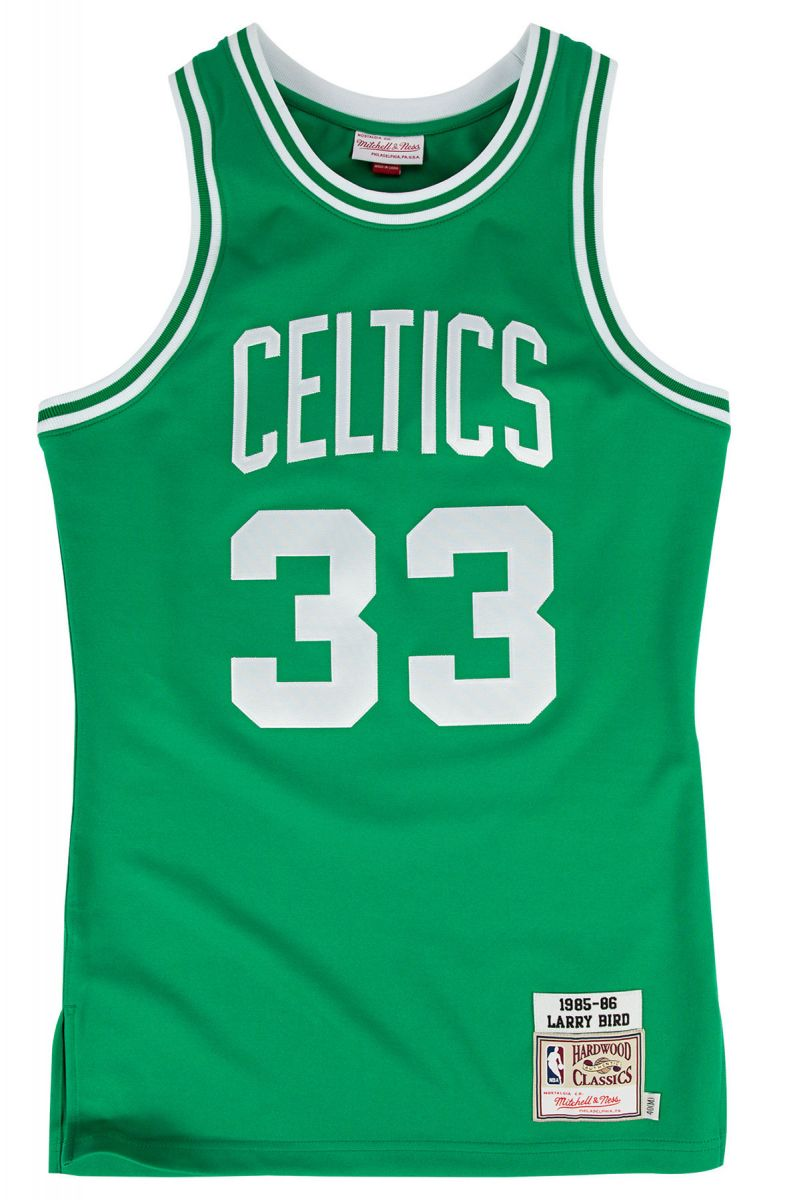 official photos 33bdc 1c109 The Boston Celtics Authentic Larry Bird #33 Basketball Jersey in Green