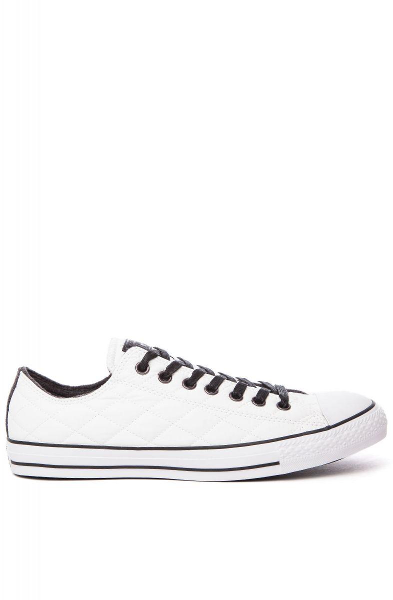 a71625d78074a6 Converse Sneaker Chuck Taylor All Star Nylon Quilt White   Black