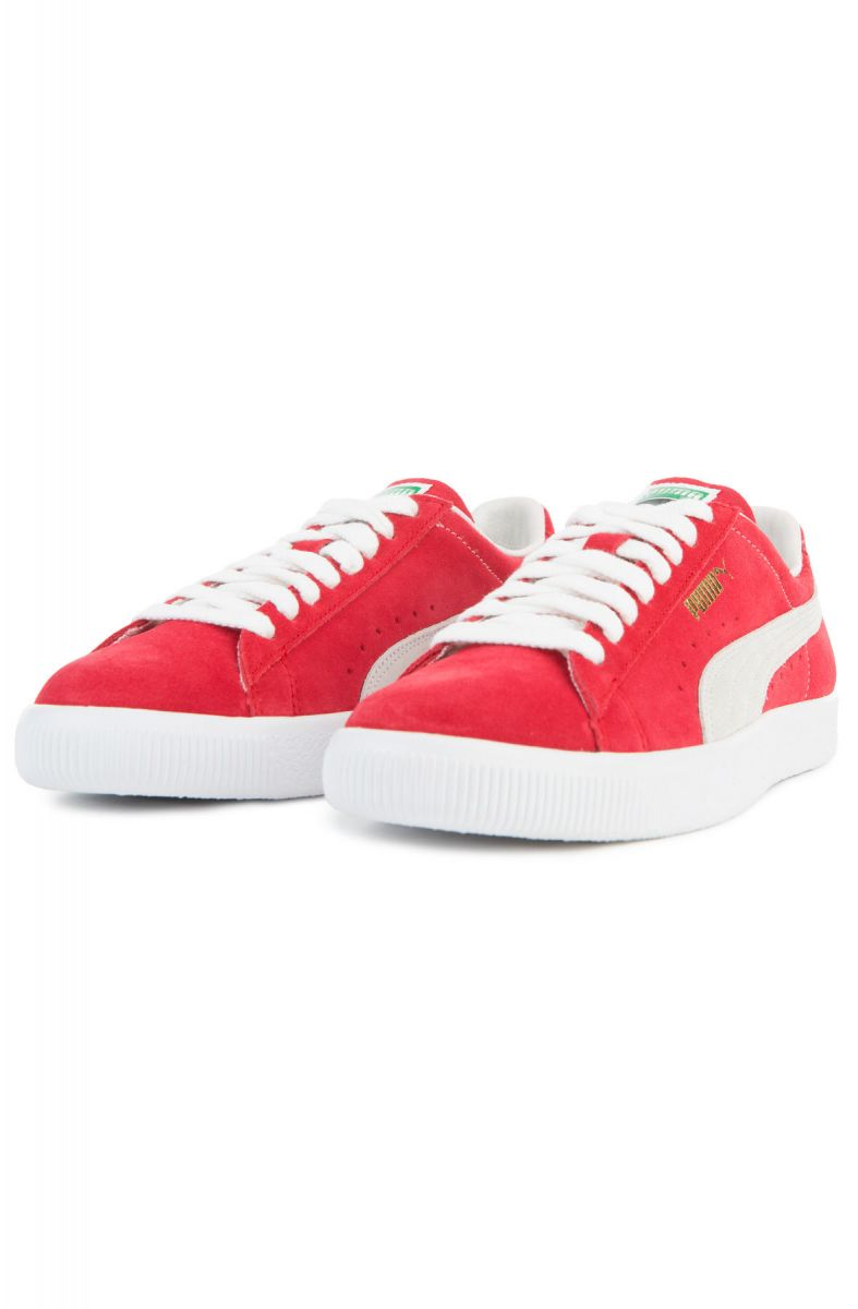 ... The Puma Suede 90681 in Ribbon Red and White ... 1b152c570