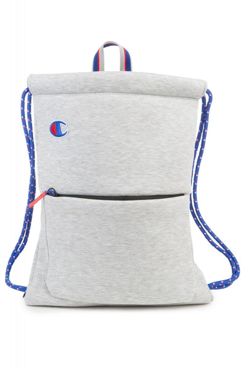 aa4e6810f8 Champion Backpack Attribute Gym Sack Light Grey