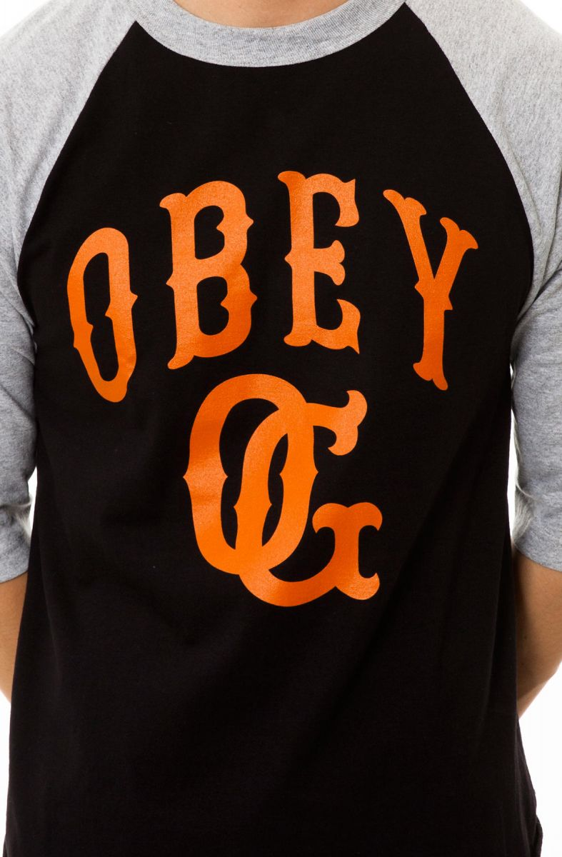 0bbb5943 ... The Cooperstown Baseball Tee in Black and Heather Grey ...