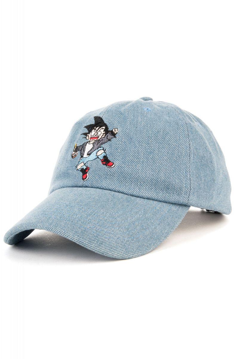 Entree LS Hat Misunderstood Goku Dad Denim Blue fea362741ac