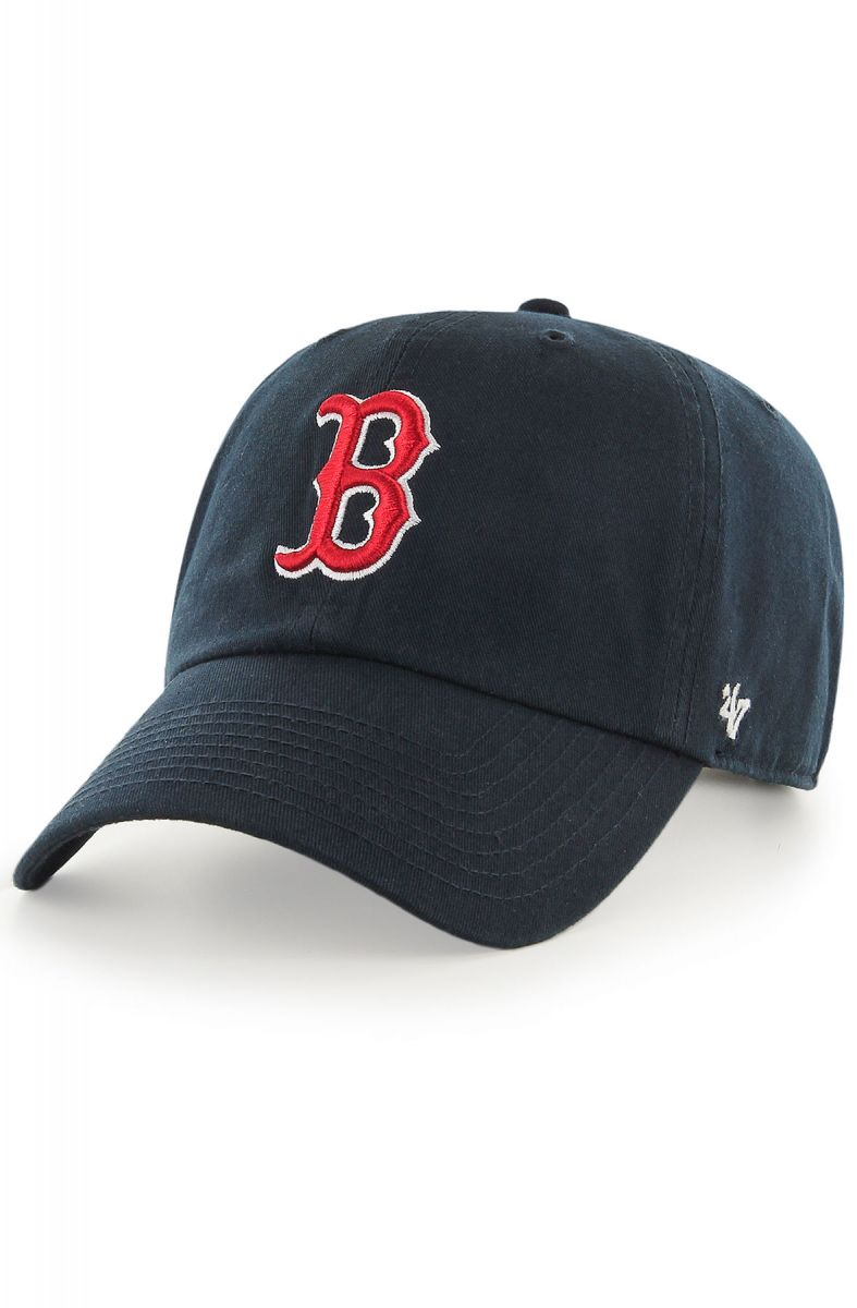 5e4042724f5 The Boston Red Sox Home  47 Clean Up Dad Hat in Black and Red