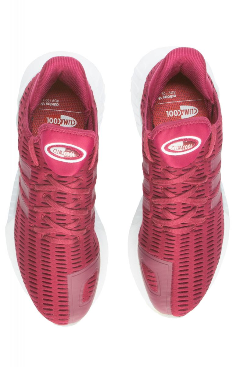new concept 7dd76 2adf1 The Climacool 02/17 in Mystery Ruby and Footwear White