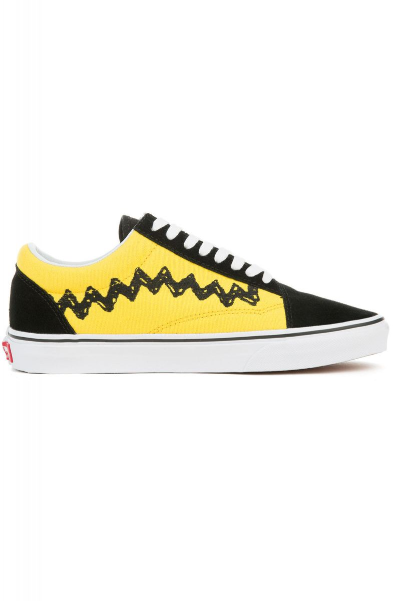 ... The Vans x Peanuts Old Skool in Charlie Brown Black ... ca7b30914