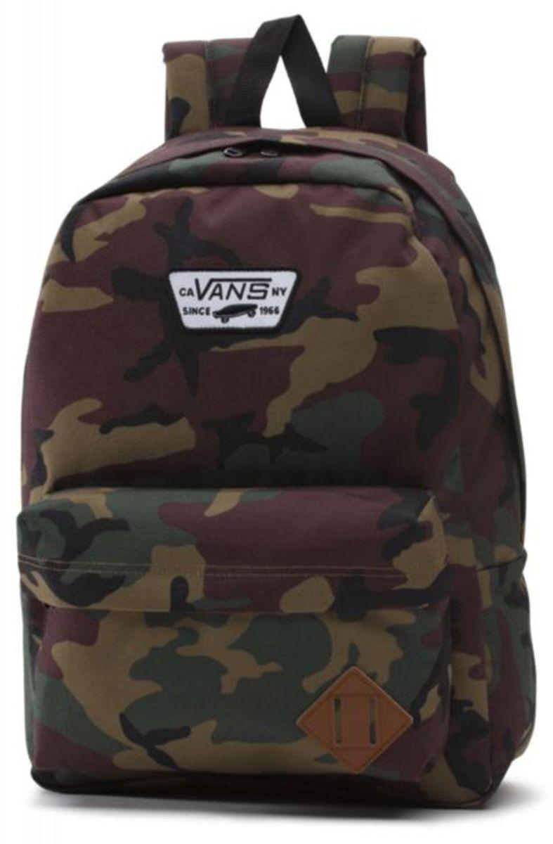 782283f650 Old Skool ll Backpack Classic Camo Black