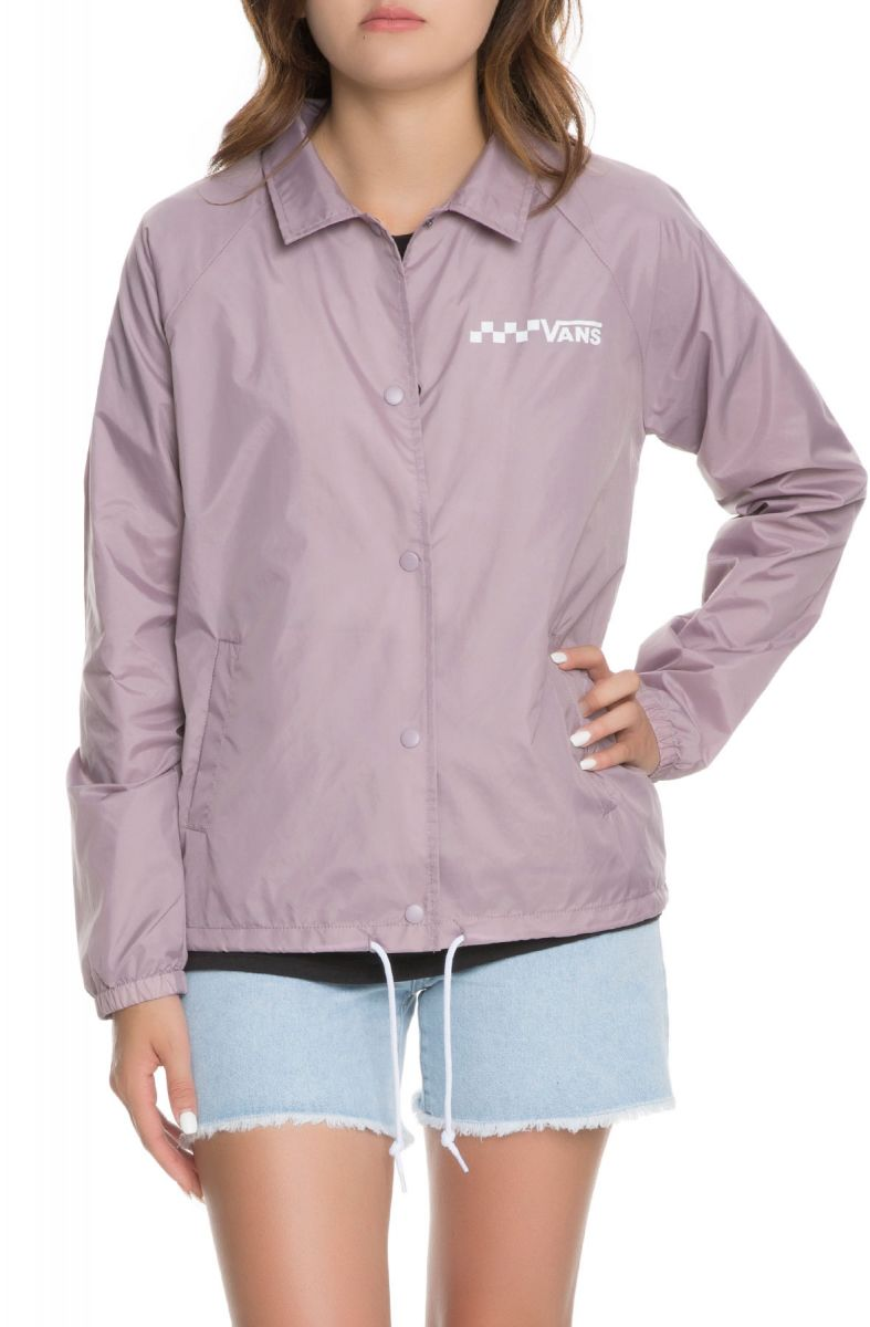 0b14feb076e6ee VANS Jacket Thanks Coach Sea Fog Purple