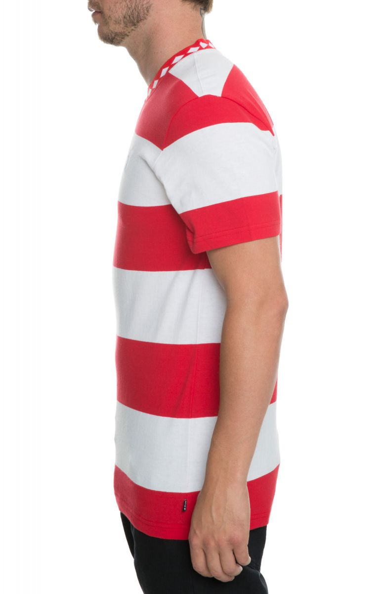 31b9f1030c ... The Ace Stripe Shirt in Red ...