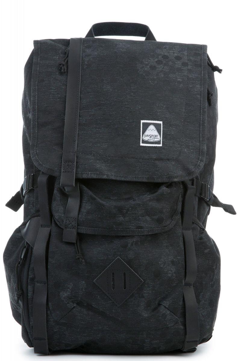 jansport backpack hatchet dp black camo dot