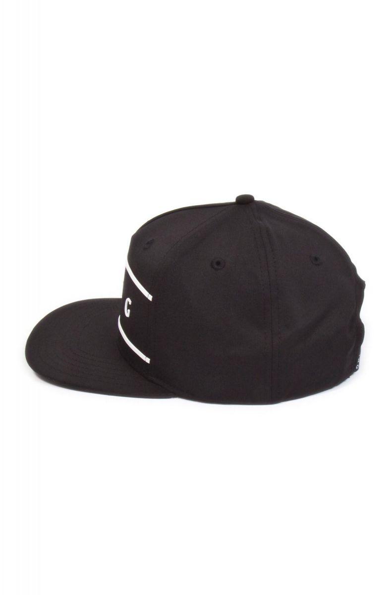 2eebfe866 Stepney Pinch Panel Snapback Cap - Black