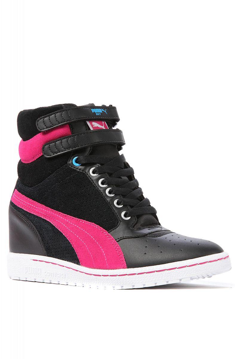 6e1b0877e5c Puma Sneaker Sky Wedge in Cabaret