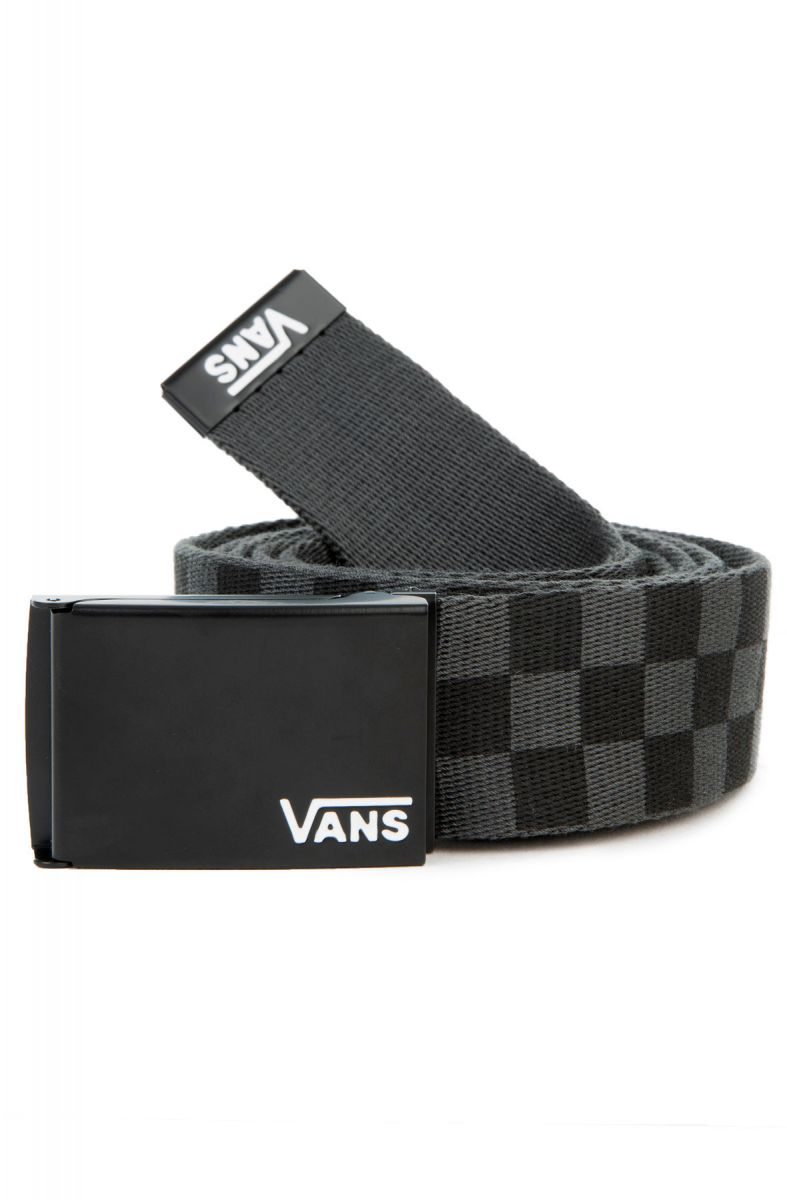 1f83a5f643f3 The Men s Long Depster Web Belt in Black and Charcoal