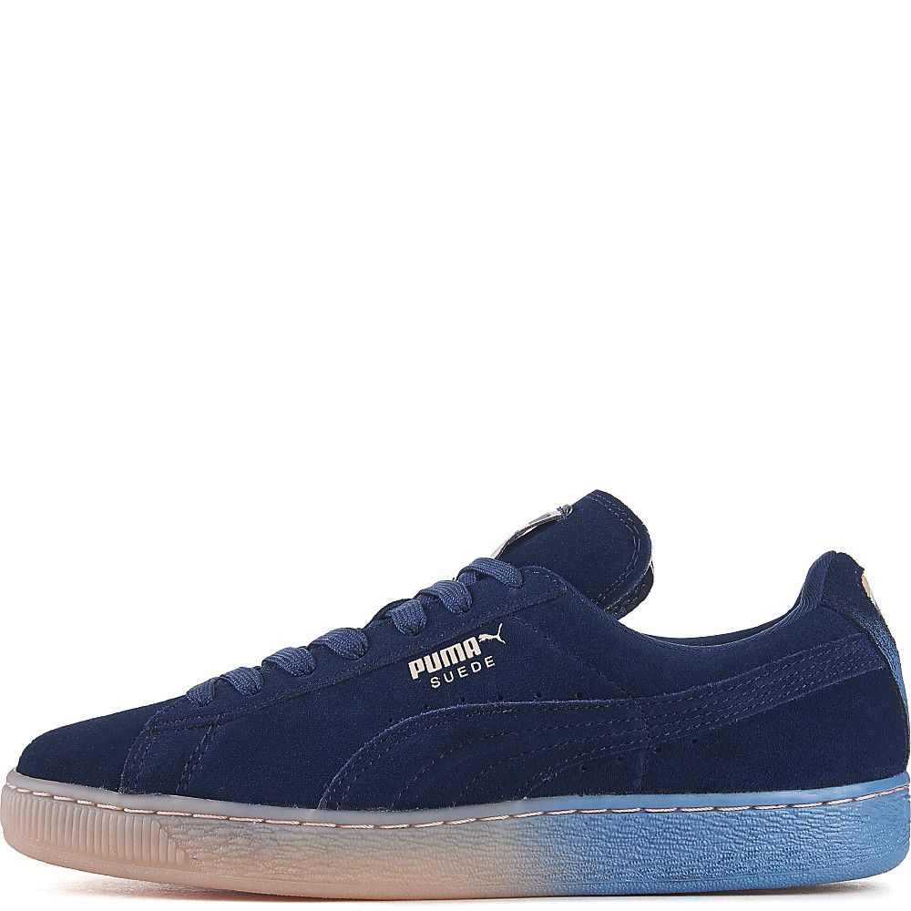 promo code 21bca 26162 Men's Pink Dolphin Suede Classic Casual Sneaker