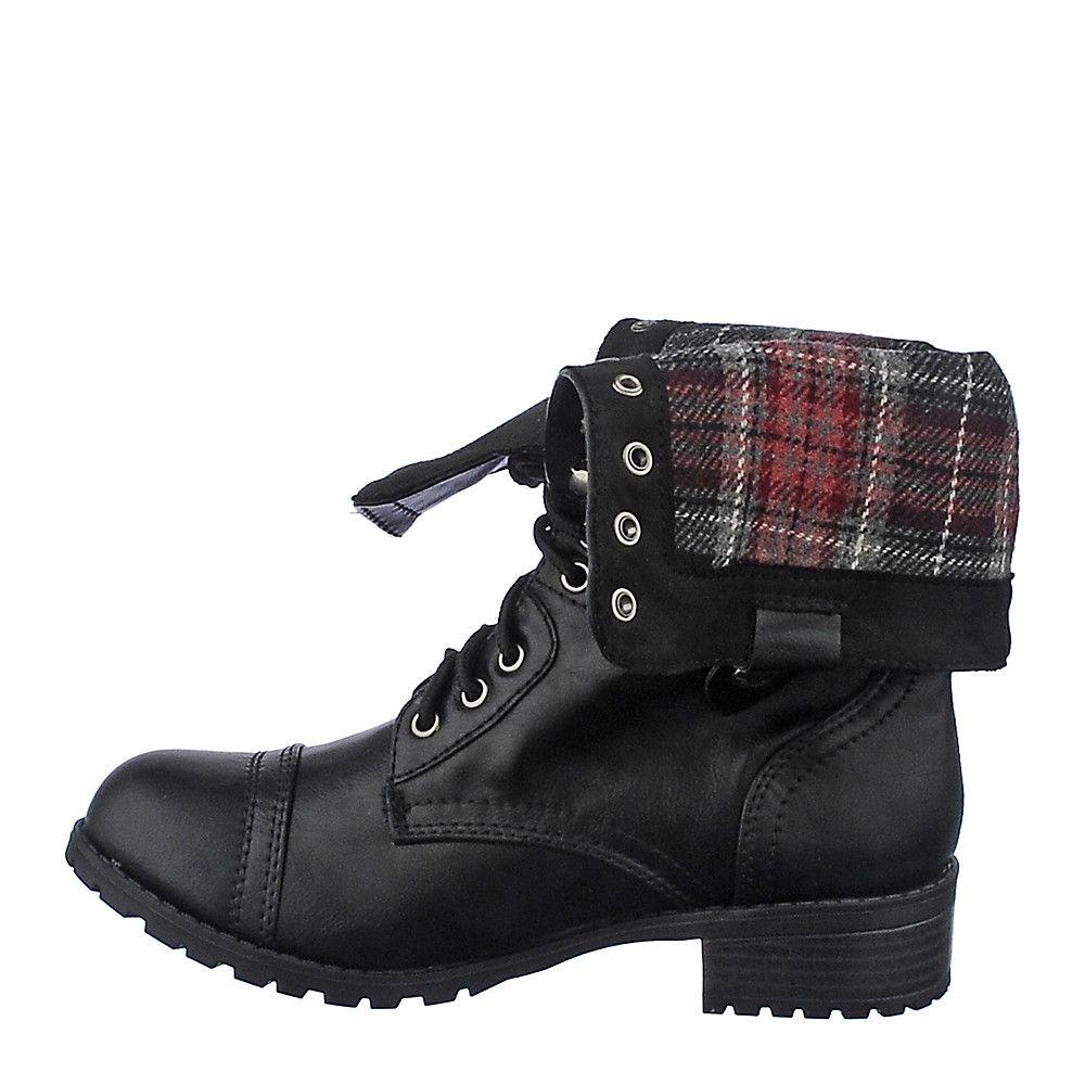 d456c505d84 Women's Fold-Down Combat Boot Oralee-S