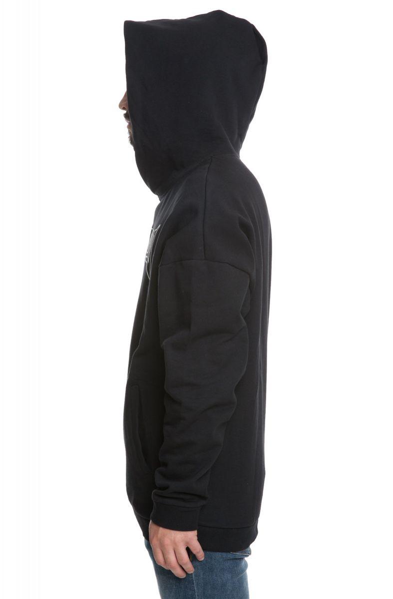 Misunderstood Vegeta Drop Shoulder Black Pullover Hoodie