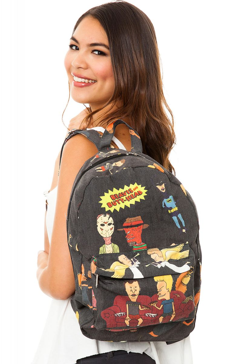 O-Mighty Backpack Beavis & Butthead in Black