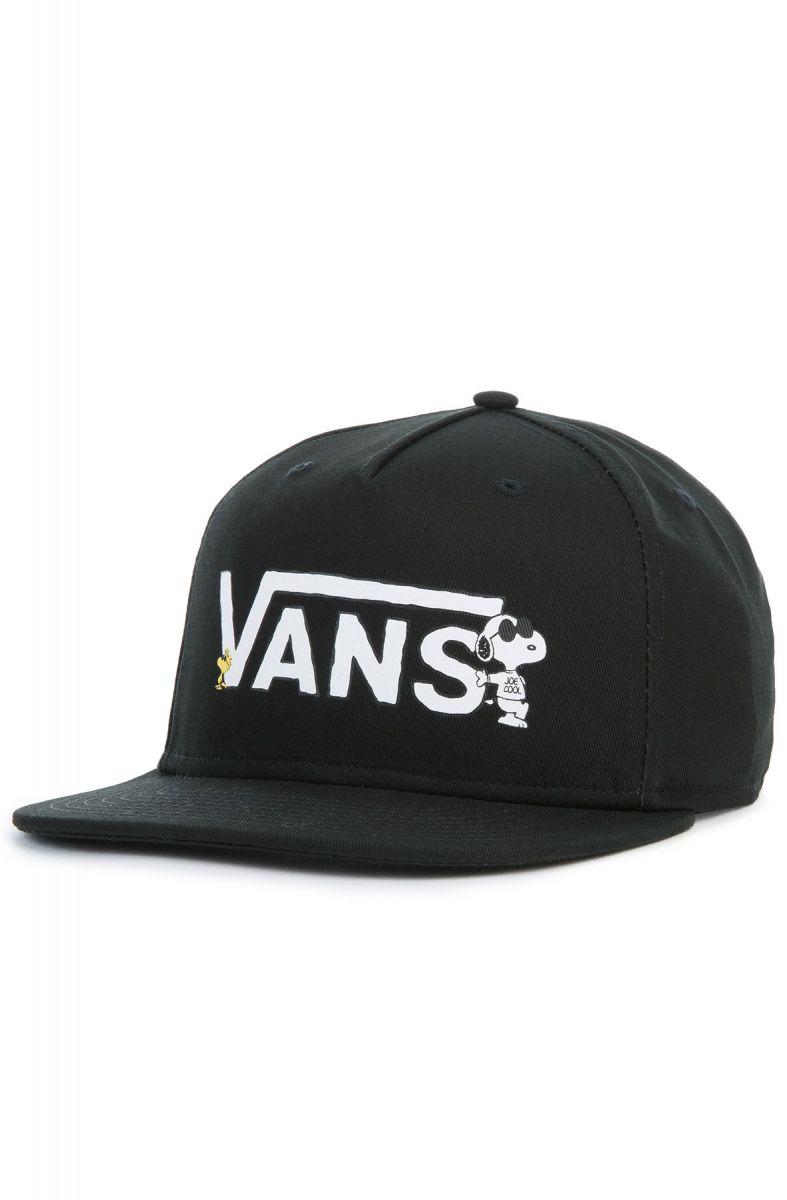 c7a7a3b6b5 VANS Hat Vans x Peanuts Snapback Black