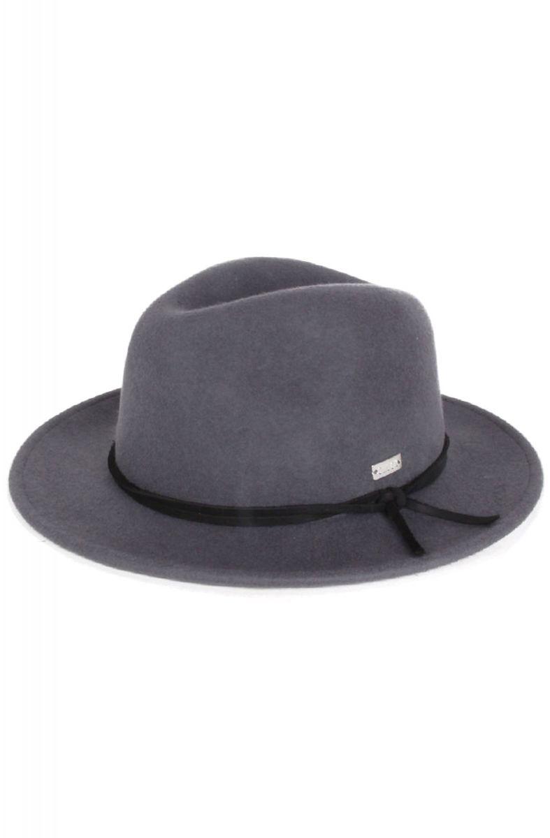 e0b476cdf578b Original Chuck By Mark McNairy Hat Munson Fedora Charcoal Grey