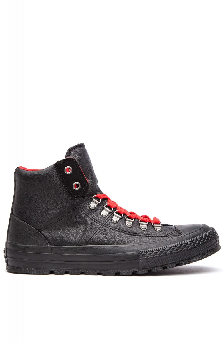 1d0bd6281e4b Converse Sneaker Chuck Taylor All Star Black   Casino Red