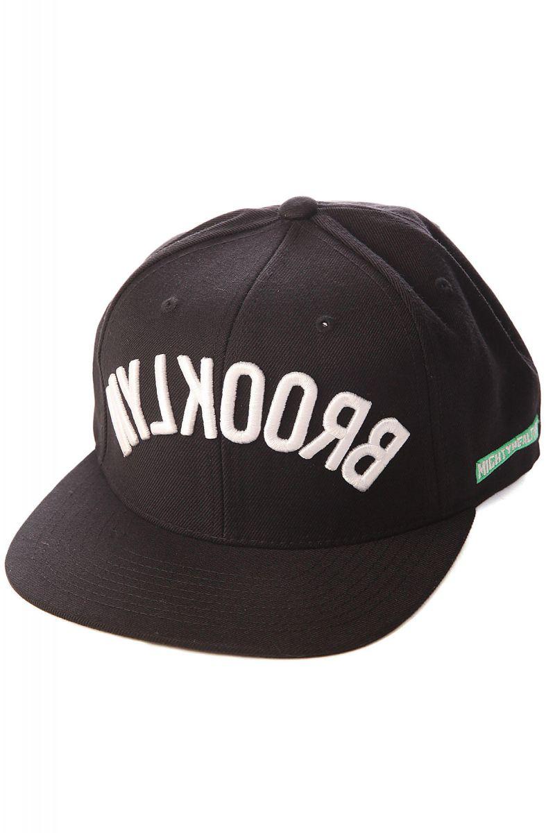 0725b18ef8de7 Mighty Healthy Snapback Hat Brooklyn Black