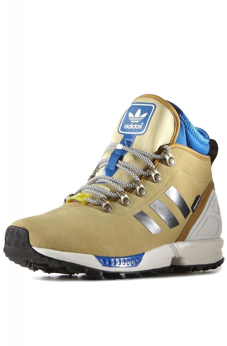 052204f29 adidas Sneaker ZX Flux Winter Sneaker Boot Sand Brown