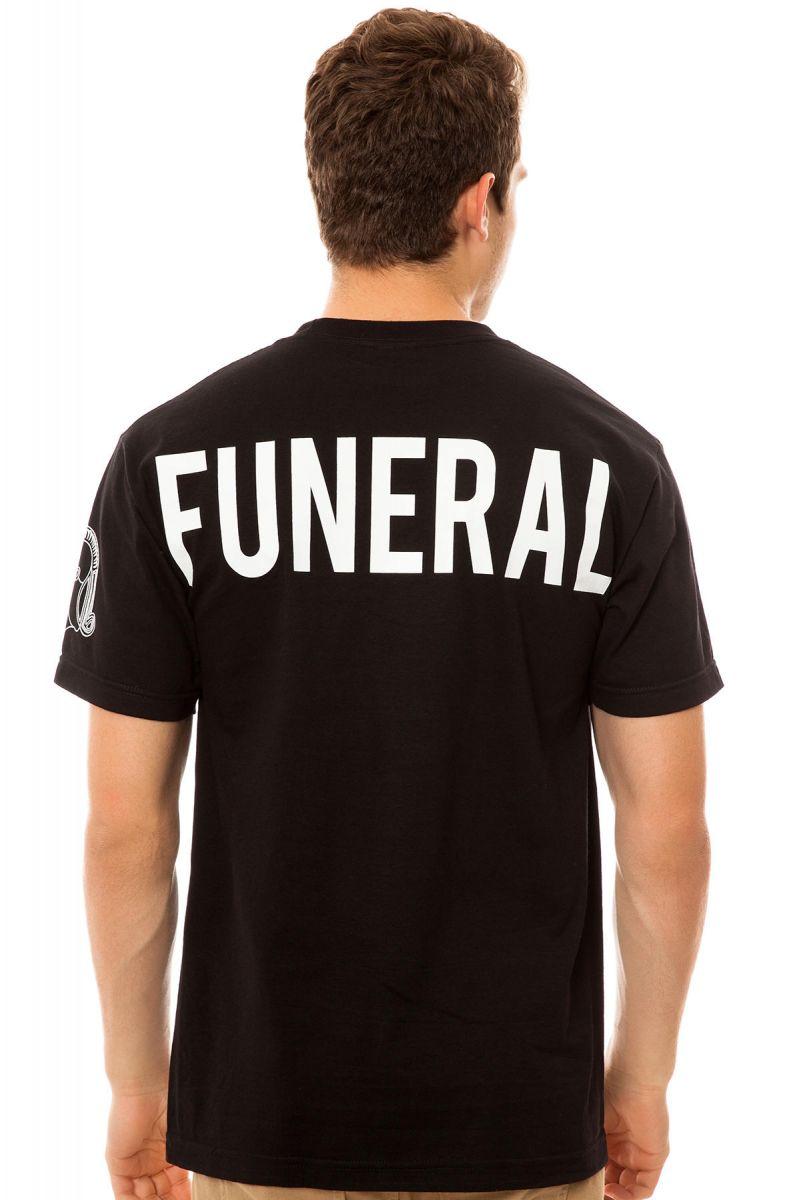 Black Scale Tee Funeral Service in Black 01df73736