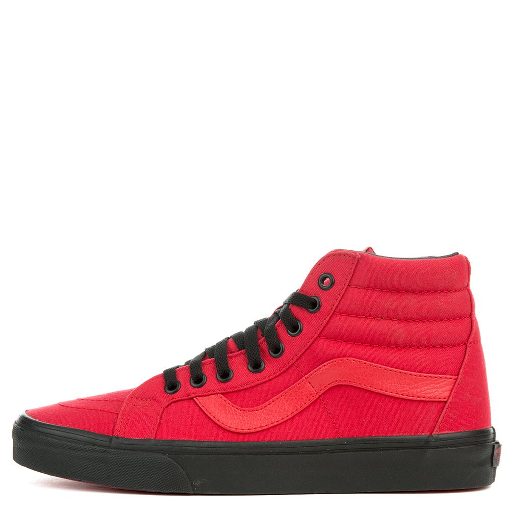 b2dde57df0 The Unisex Sk8-Hi Reissue in Racing Red and Black