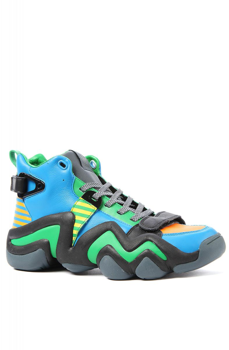 Adidas Originals x Opening Ceremony Sneakers Crazy 8 Tennis in Black Multi 8548f975d